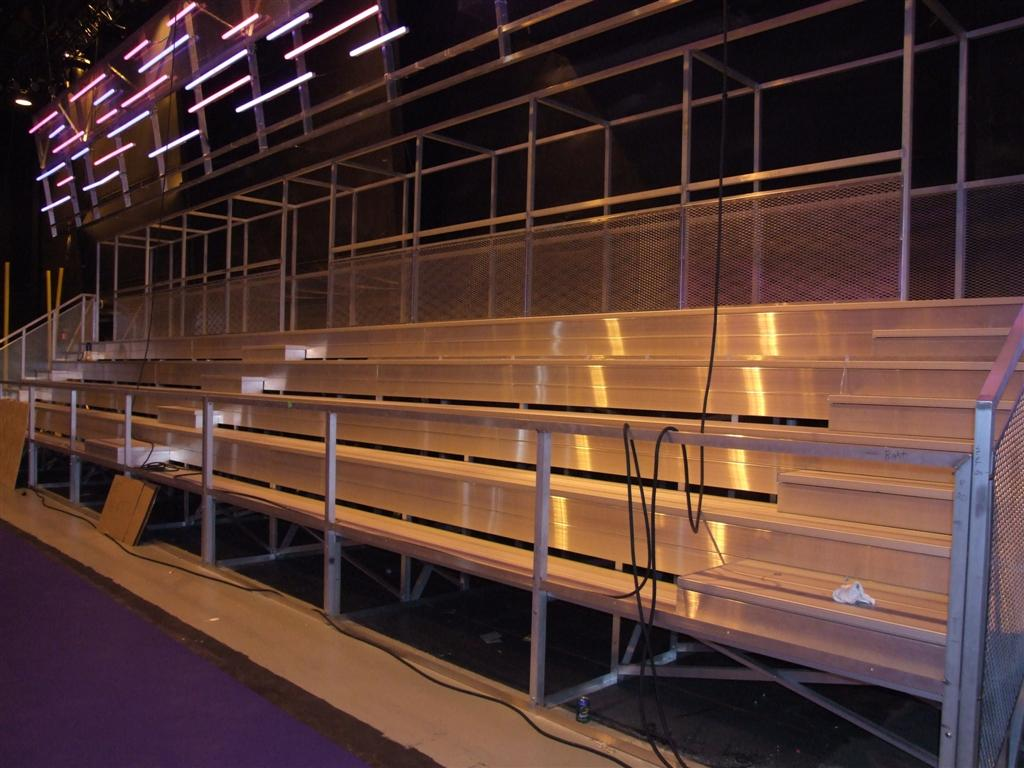 Custom Nickelodeon Bleachers wide shot