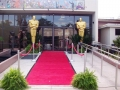 Red carpet & Oscar Statues Overview