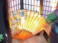 Oriental--Backlit Fan