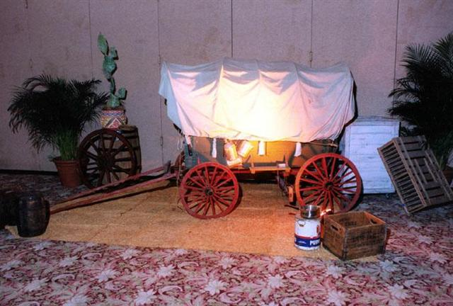 Western--Covered Wagon & Misc. Decor