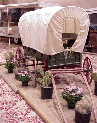 Western--Covered Wagon