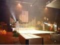 Dance Floor and Stage set