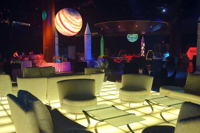 Space theme | themed-events com