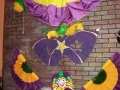Mardi Gras--Brick Wall with gack