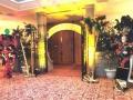 Mardi Gras--Stone Gate Entrance