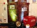 Race--Brick Wall with Mechanic Decor