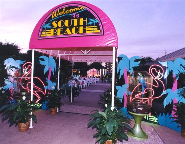 South Beach--Dolphin Outside Entrance